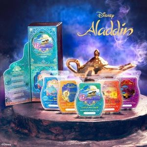 🆕 🌟Aladdin Scentsy Wax Collection 🧞♂️